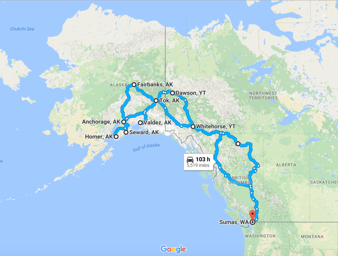A Once In A Lifetime Rv Road Trip To Alaska Snowmads