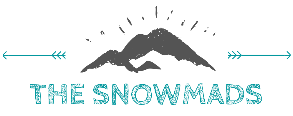 the snowmads mountain logo horizontal