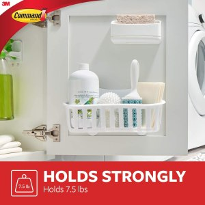 3M Command Adhesive RV Bathroom Kitchen Caddy Shelf