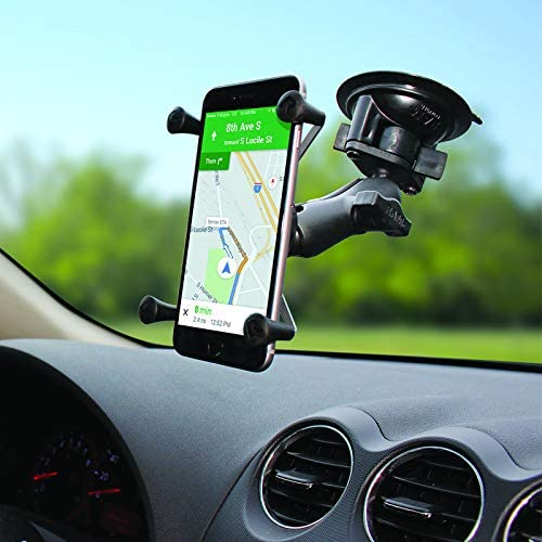 ram mount phone rv windshield holder