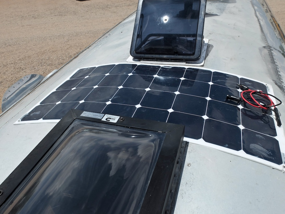 A Doityourself Airstream Solar Installation With Go Power Rhsnowmadsblog: Airstream Tv Wiring Diagram At Gmaili.net