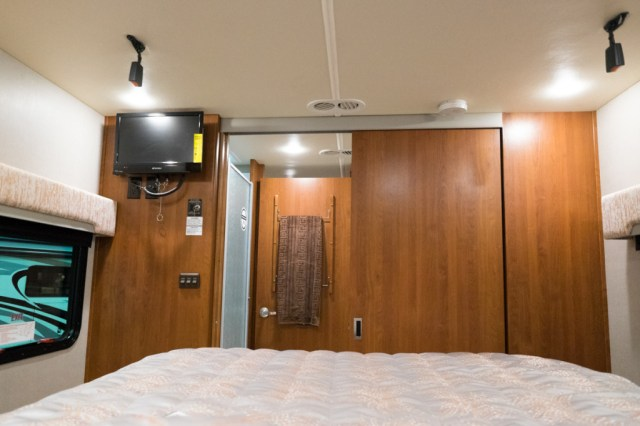 Trek RV bedroom