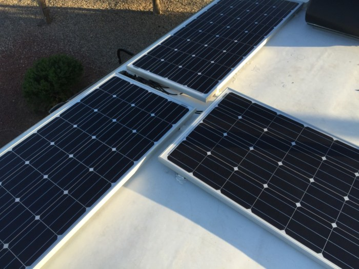 GoPower solar panels