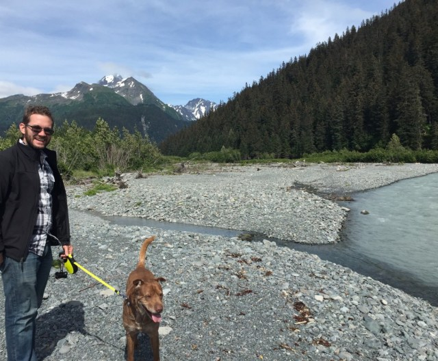 This is a lunch break in Alaska!