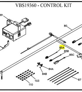 Boss VBX3000 Spreader Wiring and Motor Control Parts