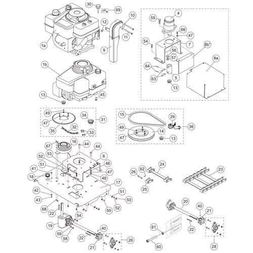 Western Ice Breaker Tecumseh/Honda/Hydraulic Drive Parts