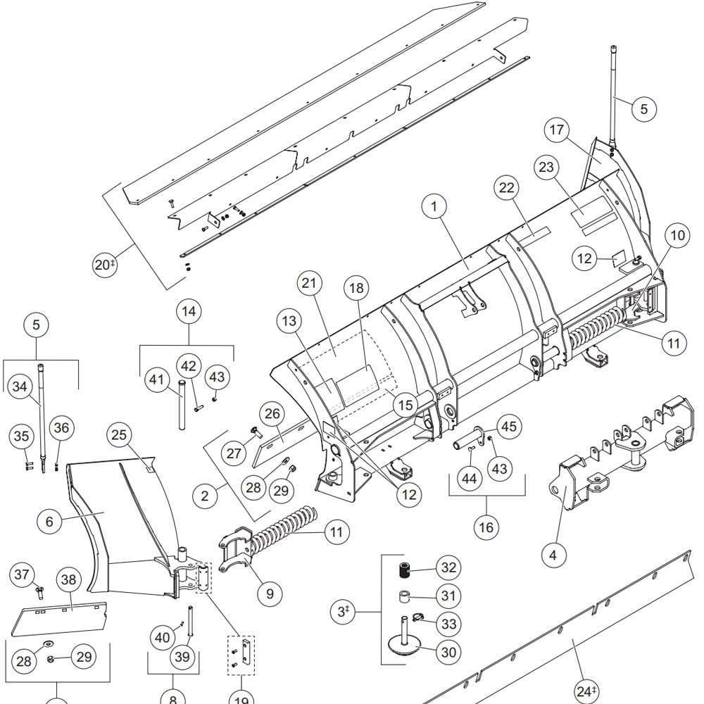 Western snow plow parts manual