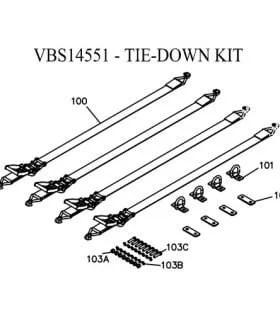 Boss VBX8000, VBX9000, VBX6500 Hopper Spreader Parts