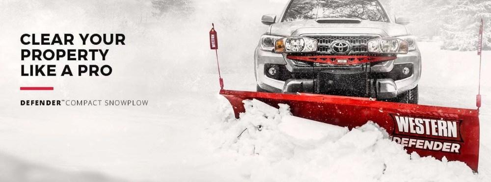 medium resolution of western defender snow plow personal residential plow