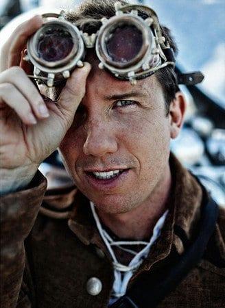 Intrepid photographer Trey Ratcliff from Stuckincustoms.com at Burning Man