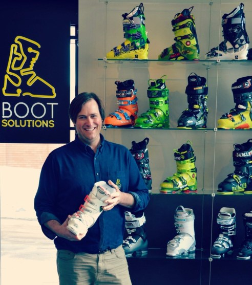 Ned Buckley, podiatrist and boot fitter