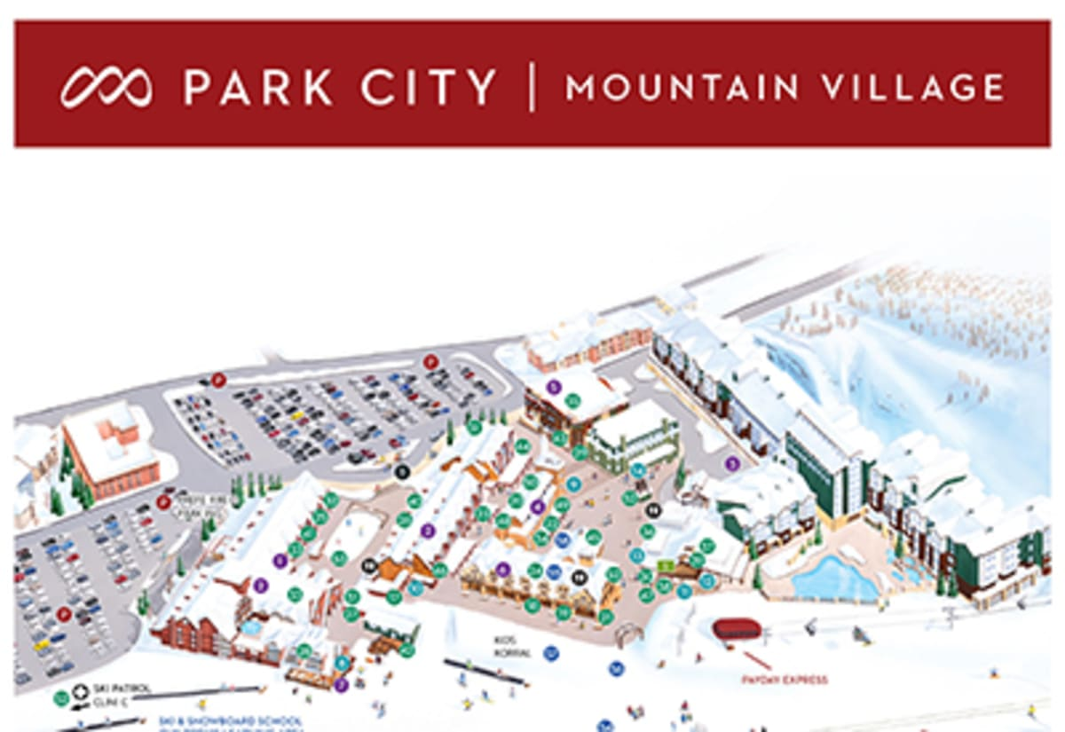 It is a rare large resort that is in close proximity to an airport. Park City Snowscene