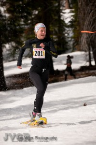 National superstar Brandy Erholtz once again earns the DION Snowshoe USSSA National Team with her silver medal