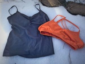 Handful bra and tank