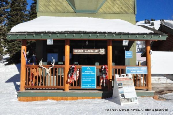 Naturalist center at Grand Targhee ski resort