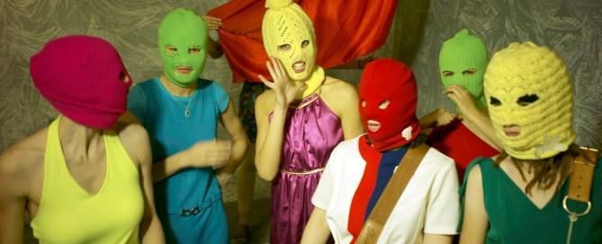 Pussy Riot wears balaclavas