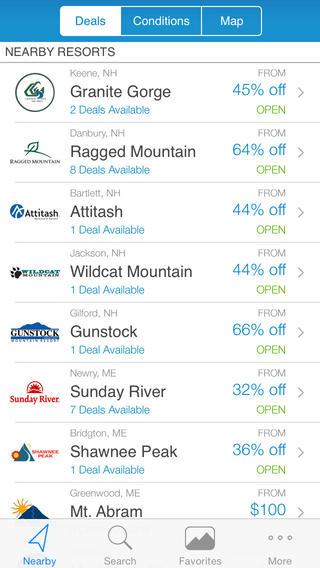 ski apps liftopia