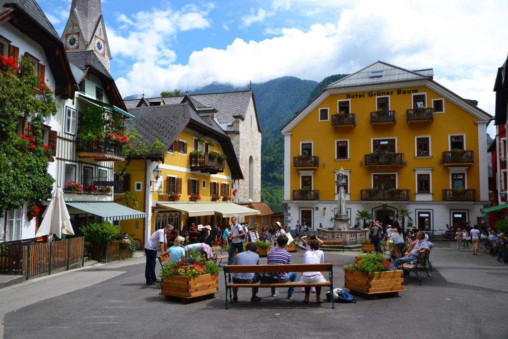Hallstatt Market Square