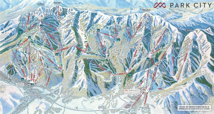 new One Park City trail map