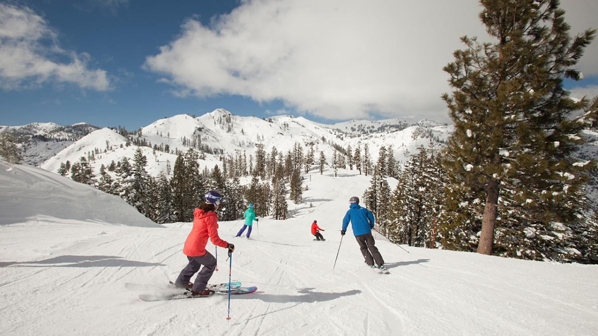 Squaw Valley ski holidays