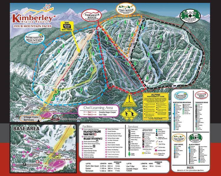 Kimberley Trail Map