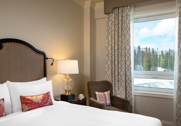 Fairmont Chateau lake Louise, Fairmont Mountainview room
