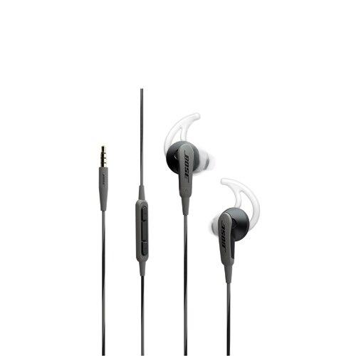 Bose SoundSport in-ear headphones (Charcoal Black
