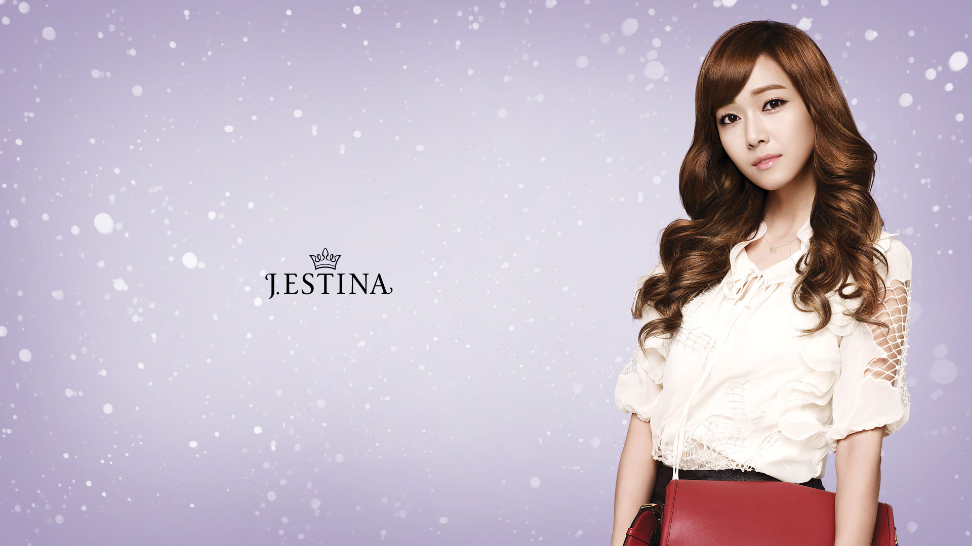 Korean Cute Girl Hd Wallpaper Snsd J Estina Winter Wallpapers Snsd Pics