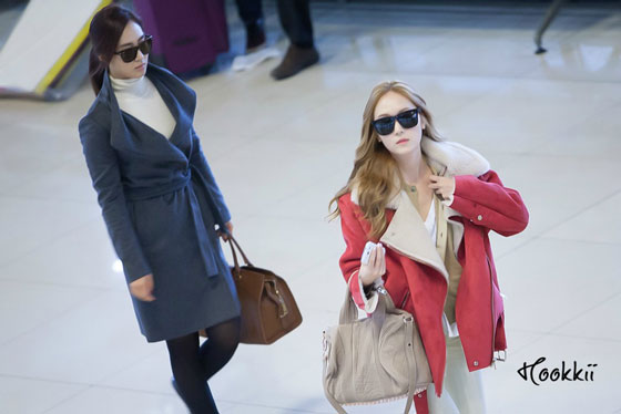 Snsd Jessica Gimpo Airport fashion