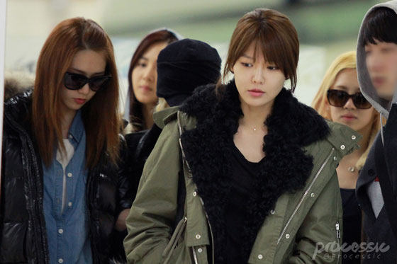 Snsd Sooyoung Gimpo Airport style