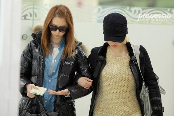 Snsd Sunny Yoona Gimpo Airport