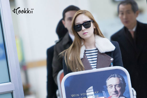 Snsd Jessica Gimpo Airport style