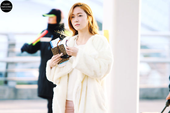 Snsd Jessica Incheon Airport fashion