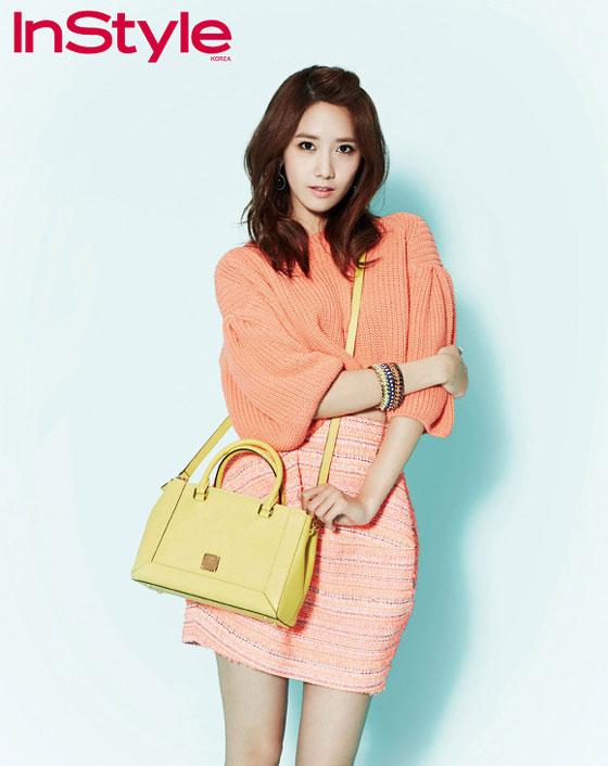 SNSD Yoona Instyle Korea Magazine