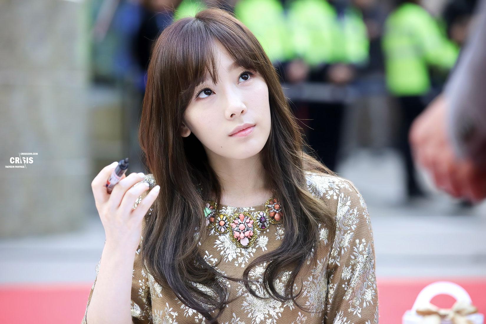 Girls Generation Tiffany Wallpaper Taeyeon Lotte Department Store Fansign Snsd Pics