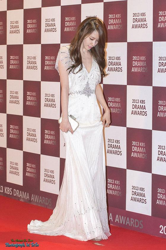 SNSD Yoona KBS Drama Awards 2013