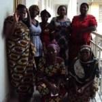 Click to enlarge. Brigitte, and her business group: Mvano, Machozi, Kisuba, Kubuya, Misuba, and Sekimonyo.