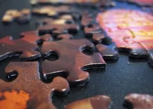 A puzzle can't be assembled without knowing the full picture.  (cc) Ella Phillips.