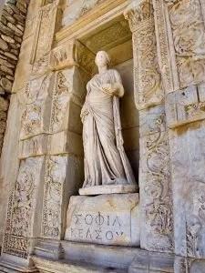 Sophia, goddess of wisdom. (cc) Chris Beckett.