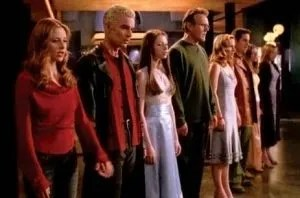 """""""Walk Through the Fire"""" sung by the cast of """"Buffy the Vampire Slayer""""."""