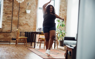Exercise matters to health and well-being, regardless of your size