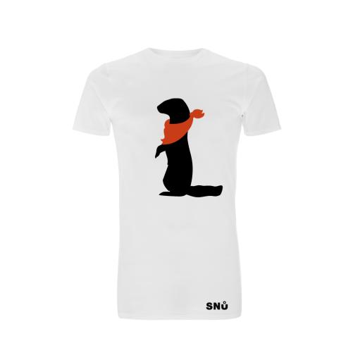 Snu Wear: Ferret bandana T-Shirt. Unisex Longline Tee