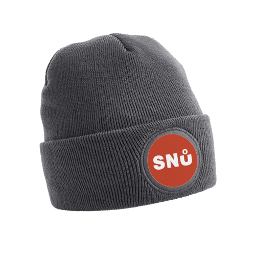 Grey Snu Wear Beanie