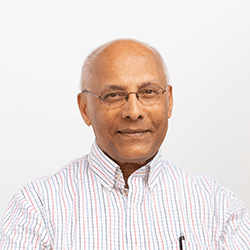 Faculty headshot of Koshy Muthalaly