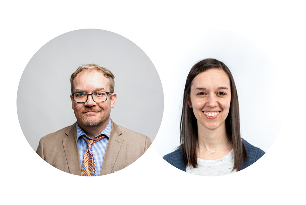 Headshots of Dr. Shawn Pendley and Dr. Shalyn Hooten