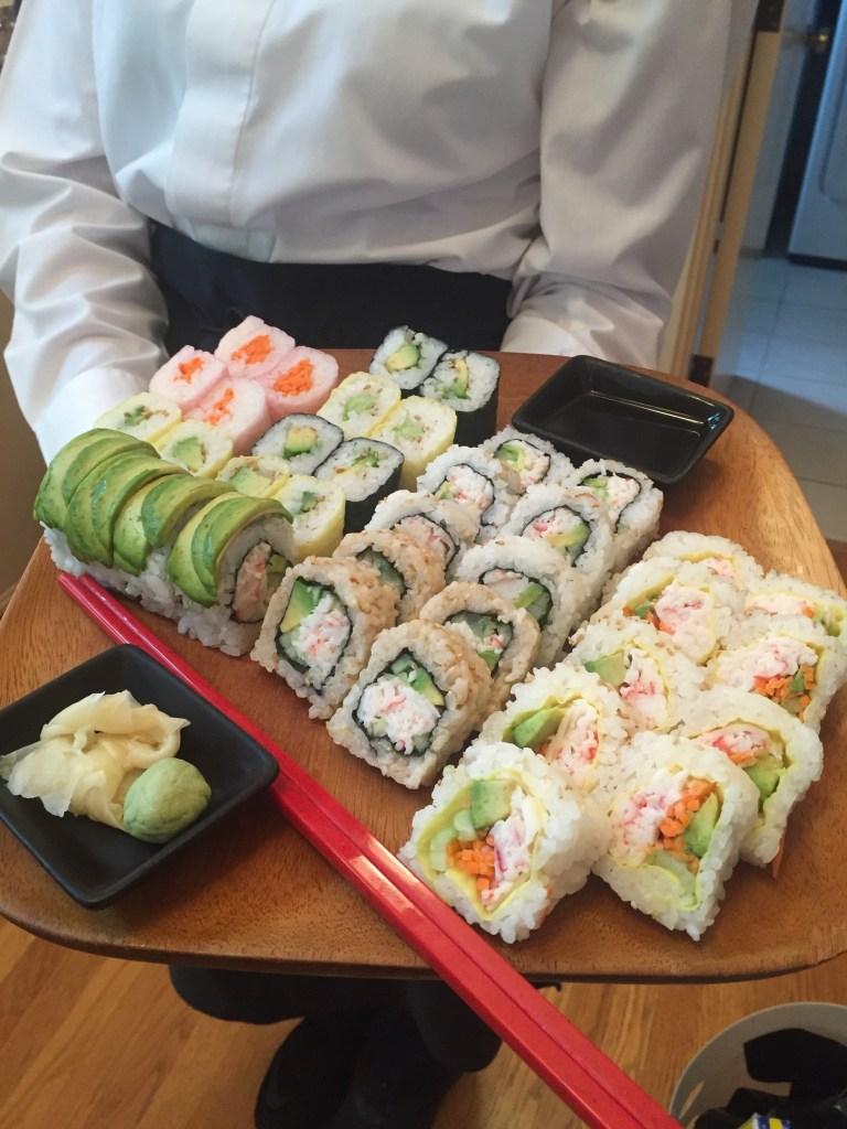 Sushi Appetizer Tray