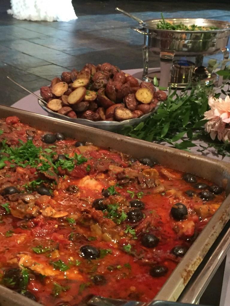 pasta dinner buffet