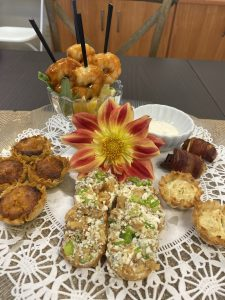 appetizers for tasting