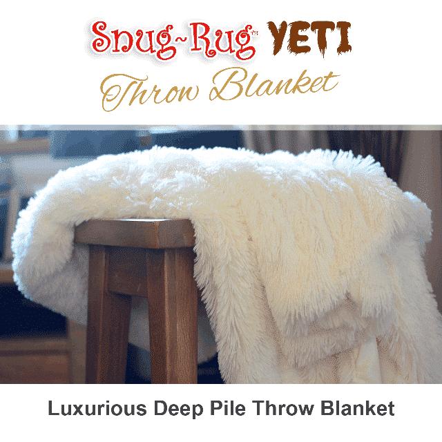Snug Rug YETI Throw Blanket Snug Rug