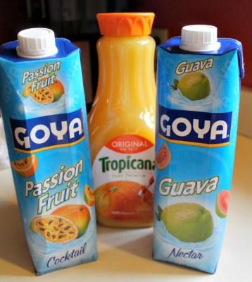 Jungle Juice Ingrediets
